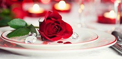 St Valentines Day Menu